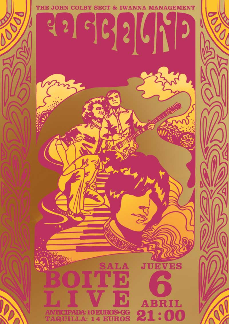 Fogbound, cartel por Laura Kensington